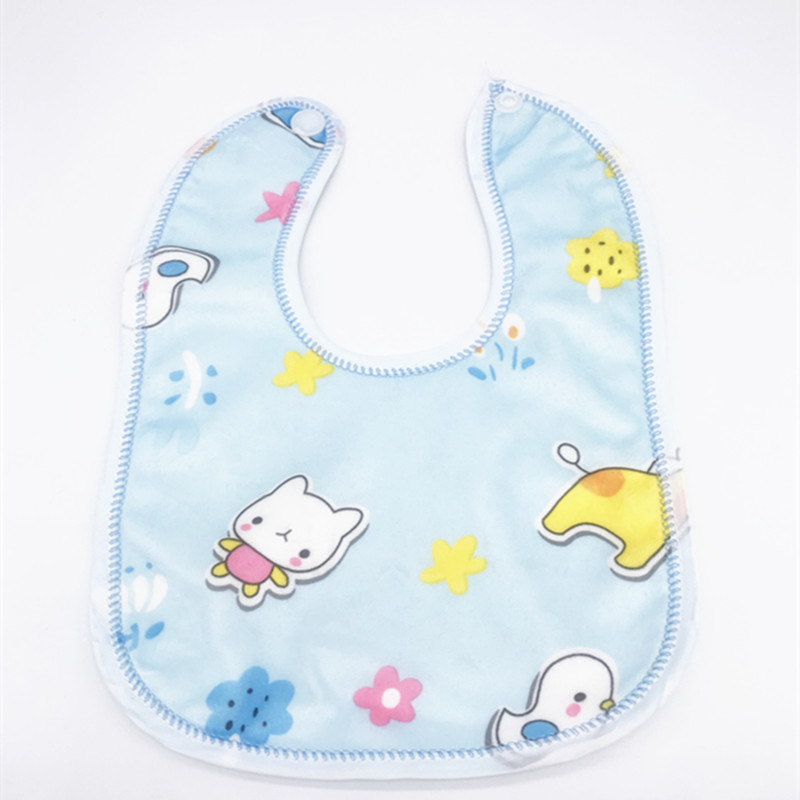 Image 5 - 30pcs/lot Toddler  Baby Boys Girls Waterproof Feeding Clothes  Newborn Clothing Accessories Baby Bibs Infant Feeding ClothesBibs & Burp Cloths   -