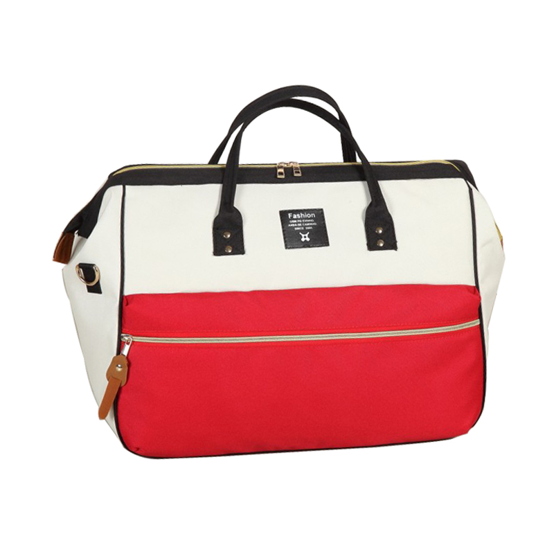 Travel Luggage Duffle Bag Lightweight Portable Handbag Keep Calm Rescue Rabbit Large Capacity Waterproof Foldable Storage Tote