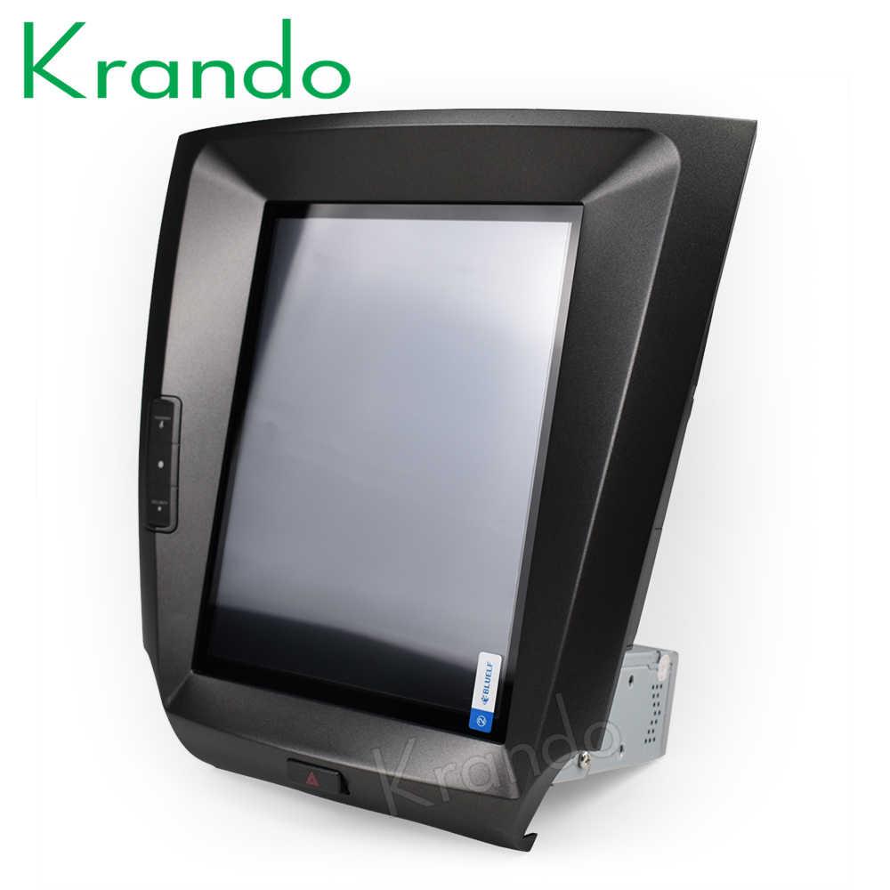 """Krando Android 8,1 de 10,4 """"Tesla estilo Vertical radio del coche de la pantalla GPS multimedia de Lexus is250 is300 is350 2006- 2011 de navegación"""