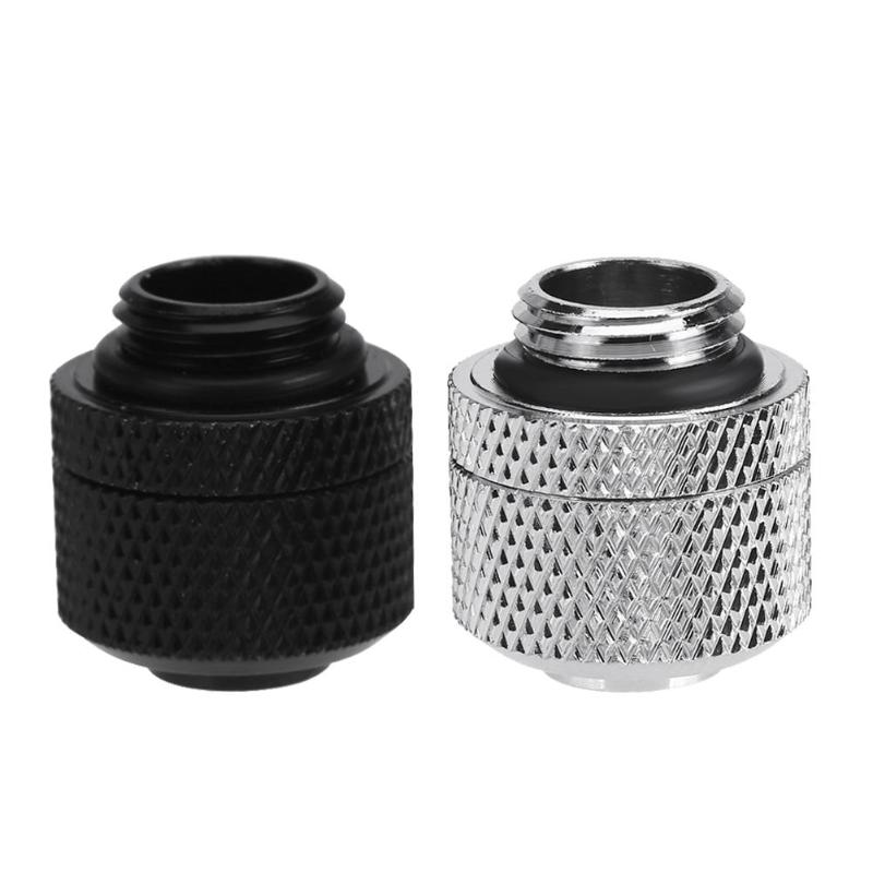 Water Cooling Fittings G1/4 External Thread Pagoda For 9.5X12.7mm Soft Tube PC Computer Water Cooling System Connector