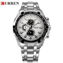 цены Reloj Hombre CURREN 8023 Brand Simple Fashion Casual Business Watches Men Date Waterproof Quartz Mens Watch relogio masculino