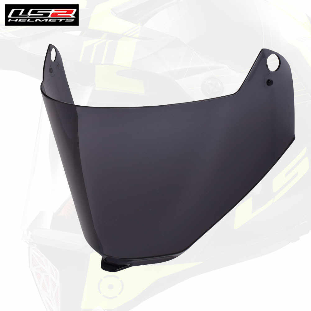 a6e2413e LS2 Visors for Motorcycle Helmets MX436 PIONEER Face Shield Lens Sun Glass  Spare Extra Replacement Motocross
