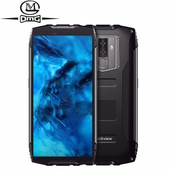 Blackview BV6800 Pro Android 8.0 6580mAh Wireless charging 4GB+64GB Octa Core 16.0MP IP68 shockproof Waterproof 4G mobile phone blackview bv9100 6 3 13000mah nfc ip68 rugged shockproof smartphone android 9 0 4gb 64gb octa core fast charge 4g mobile phone