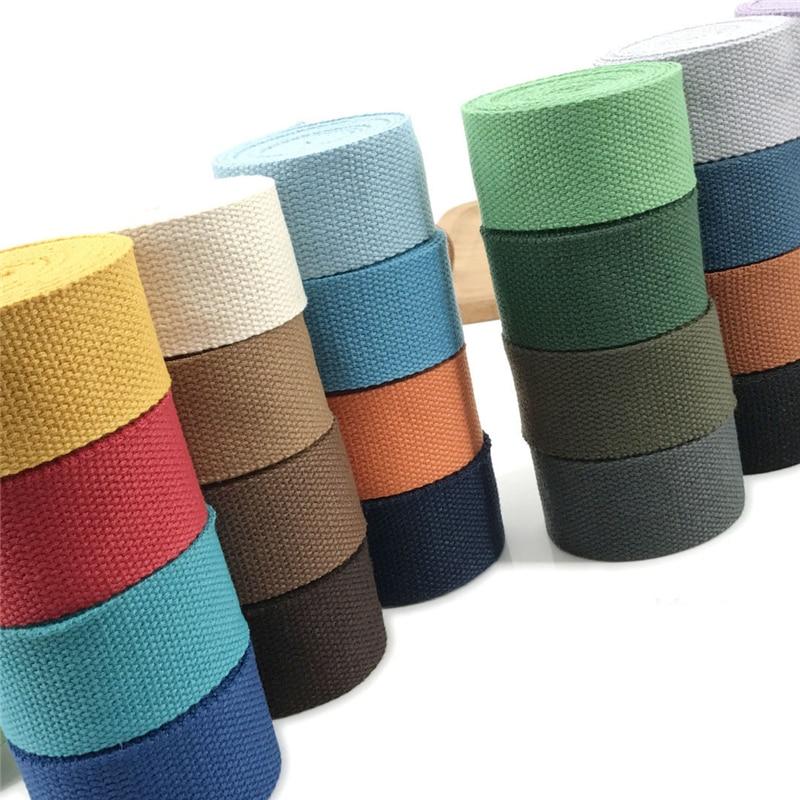 25 mm  cotton HEAVY CANVAS Webbing Tape Strap bag craft DIY belt sewing