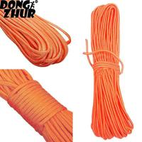 High Quality Outdoor Climbing Safety Sling Rappelling Orange Rope Auxiliary Cord PYY9173