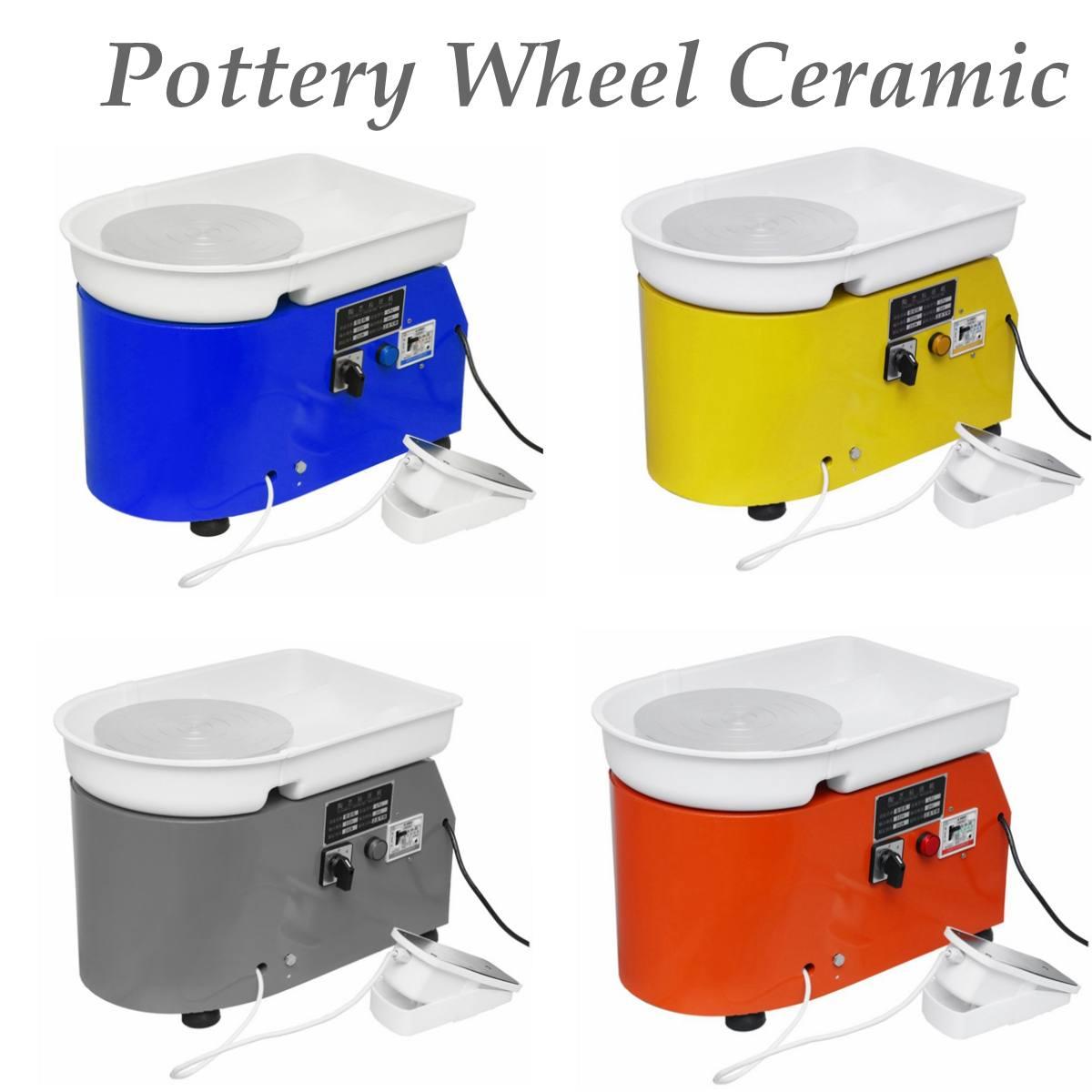 Platine 250 W/350 W Électrique Visites Roue Poterie Machine argile céramique Potter Art Pour Travail En Céramique Céramique 110 V /220 V