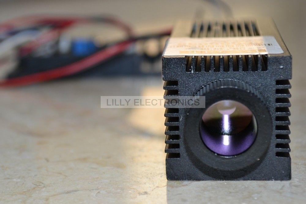 Focusable 0.8 W 808nm Infravermelho Laser Diode Module