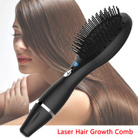 USB Charging Laser Comb Vibrating Scalp Massage Hair Growth Stimulate Brush Hair Treatments Tool Styling Tools Hair Care