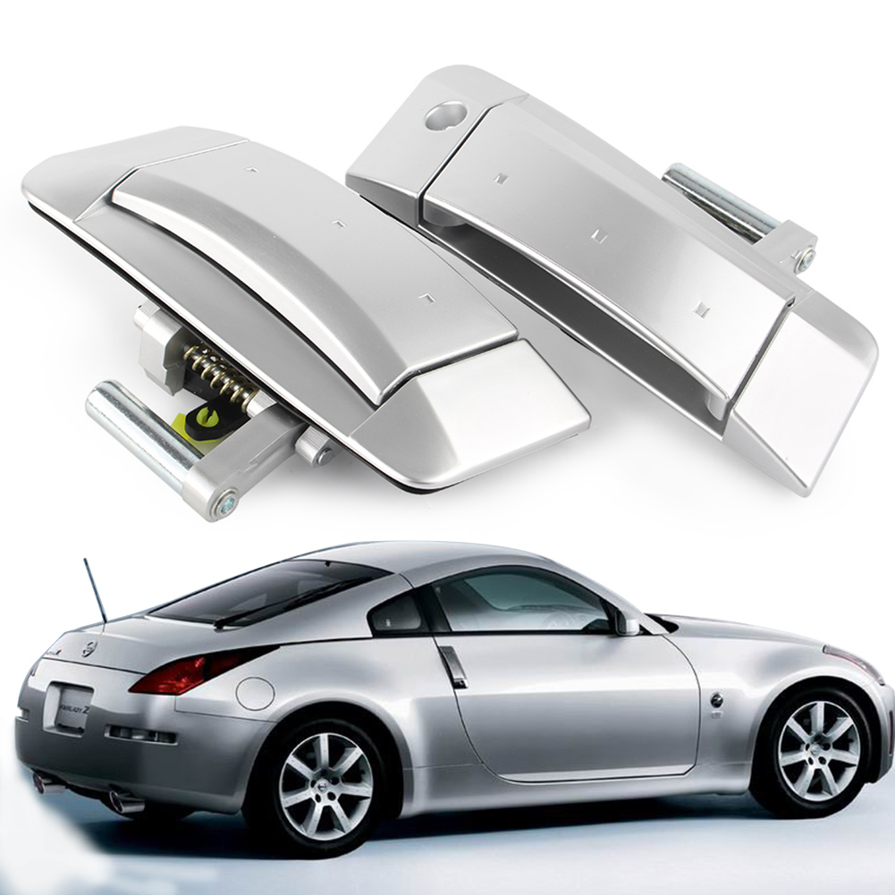 Pair Right&Left Outside Outer Silver Door Handle For Nissan 350Z  2003 2004 2005 2006 2007 2008 2009 Left Driver OnlyPair Right&Left Outside Outer Silver Door Handle For Nissan 350Z  2003 2004 2005 2006 2007 2008 2009 Left Driver Only