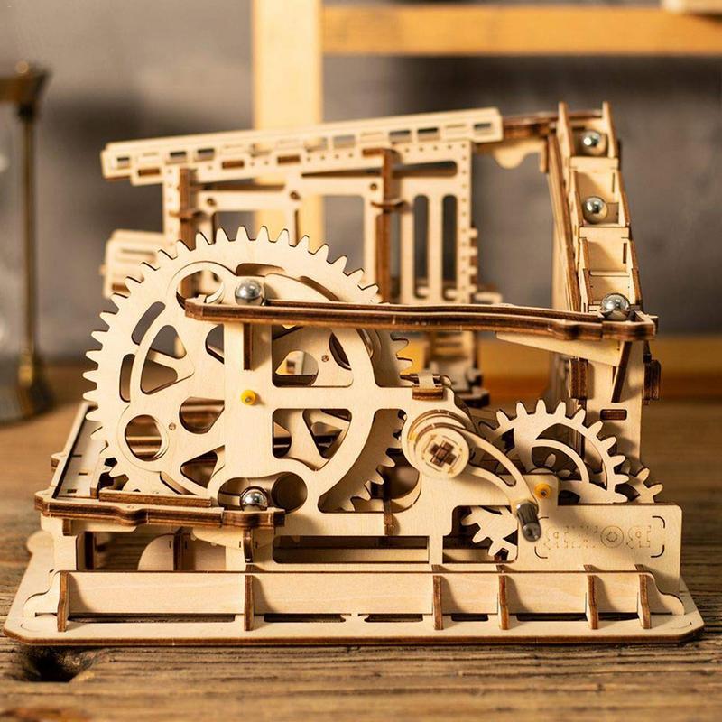 3D Puzzles En Bois Enfants Adultes Puzzles Coaster En Bois Jouets D'apprentissage D'éducation Environnementale Stéréo Assemblage Manuel Jouet Cadeau