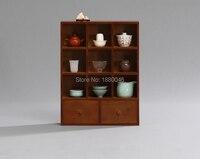 Бамбуковая чайная стойка с ящиком чайная посуда полка Полочка для чайника чайные лотки чайная тарелка китайская чайная чашка коллекция рем