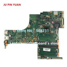 JU PIN YUAN 809397-601 DA0X22MB6D0 X22  for HP PAVILION  17-G 17-G150CY motherboard with A4-6210 CPU 809397-001 fully Tested