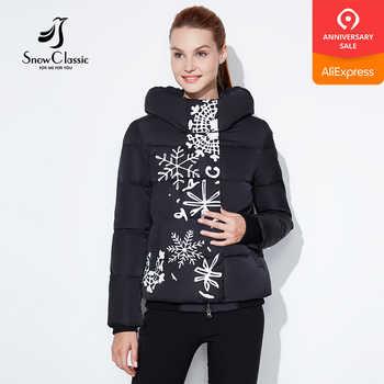 Snowclassic regular models lady printing casual fashion cotton zipper plus button asymmetrical design European style winter warm - DISCOUNT ITEM  37% OFF All Category