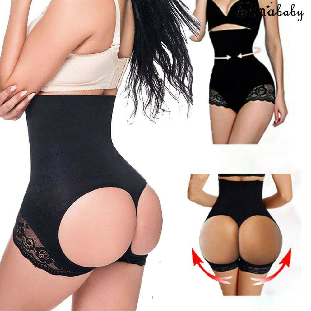 High Waist Tummy Control Hip Push Up Lift Girdle Panty Body Trainer Shaper Butt Lifter Knickers Shapers