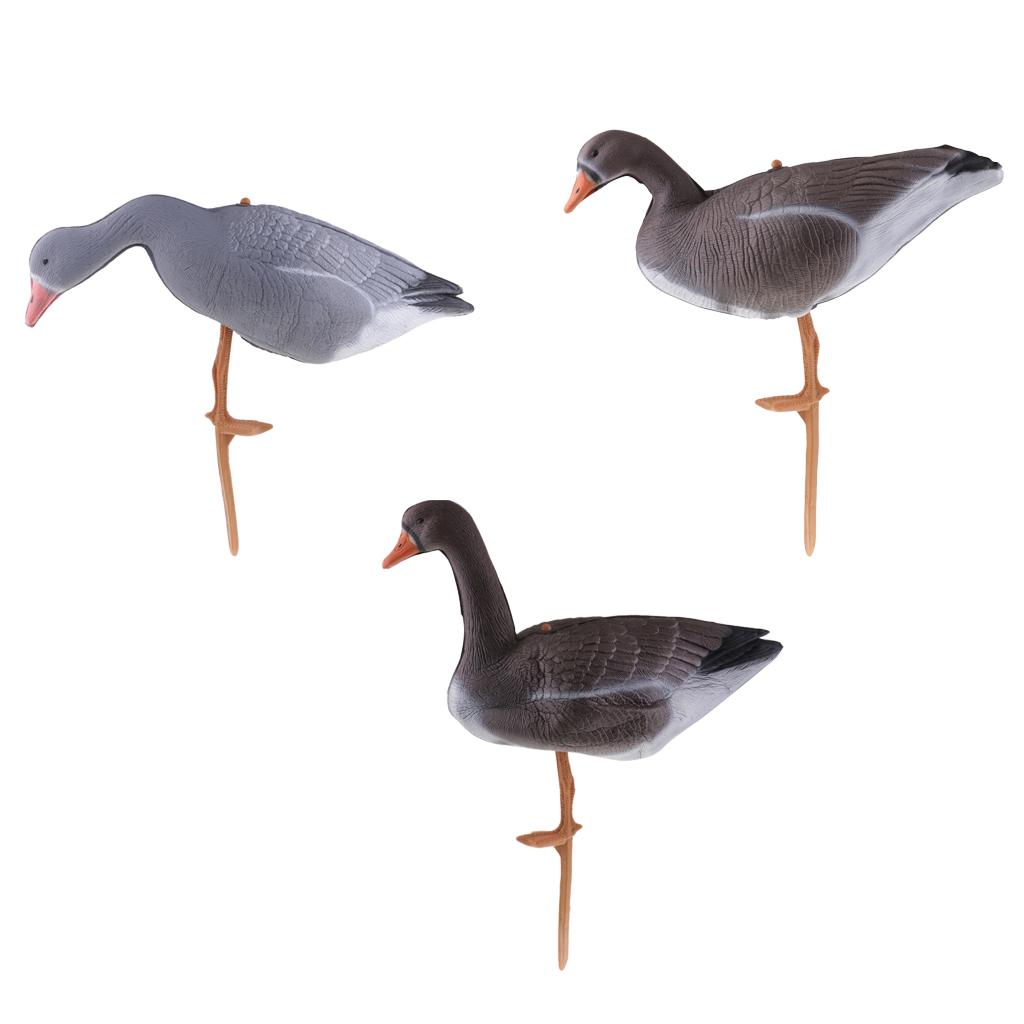 Initiative Xpe 3d Lifelike Foldable Hollow Body Full Body Goose Hunting Shooting Decoys Lawn Ornament Pond Garden Backyard Decoration Hunting Sports & Entertainment
