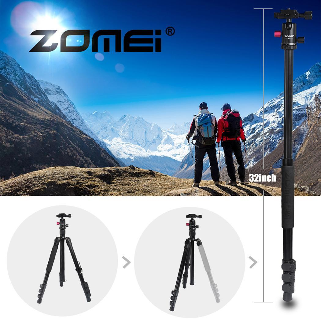 Zomei M3 Camera tripod Lightweight aluminium Stand Tripod Monopod with Ball Head Quick Release Plate for SLR DSLR Live Shooting