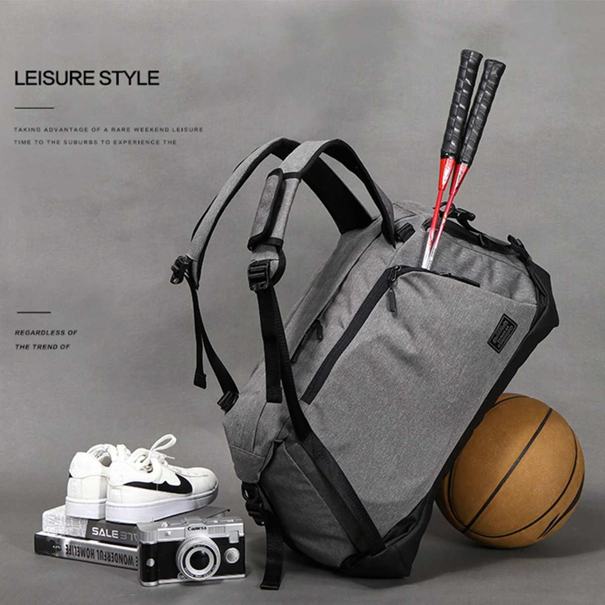 48L Sport sac de Sport hommes femmes bagages sac de voyage sacoche épaule sacs à main imperméable polochon sacs à dos Fitness Yoga sacs