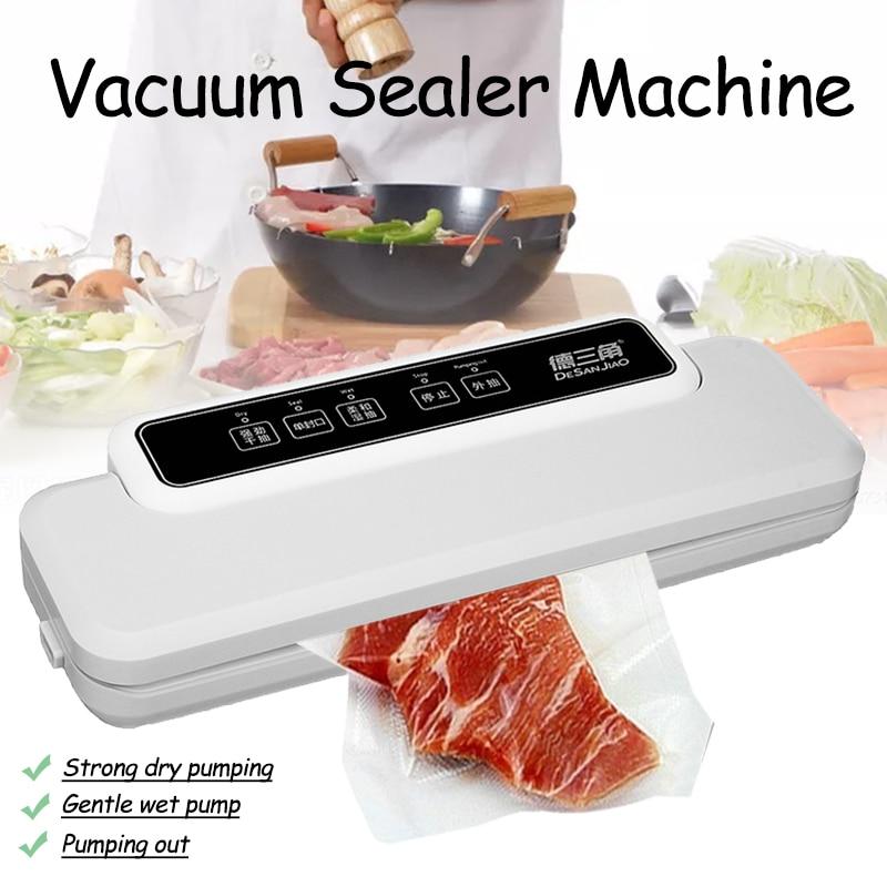 110 V-240 V Électrique emballage sous vide machine d'emballage Pour appareils de cuisine Y Compris Commercial Vide Alimentaire D'étanchéité