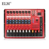 ELM профессиональный караоке аудио микшерная усилитель, работающий на основании технологии