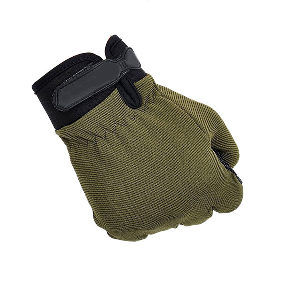 Купить с кэшбэком Anti-Slip Silicon Gloves for Men Outdoor Sports Fitness Mountaineering Bicycle Cycling Riding Military Enthusiasts Gloves NO D20