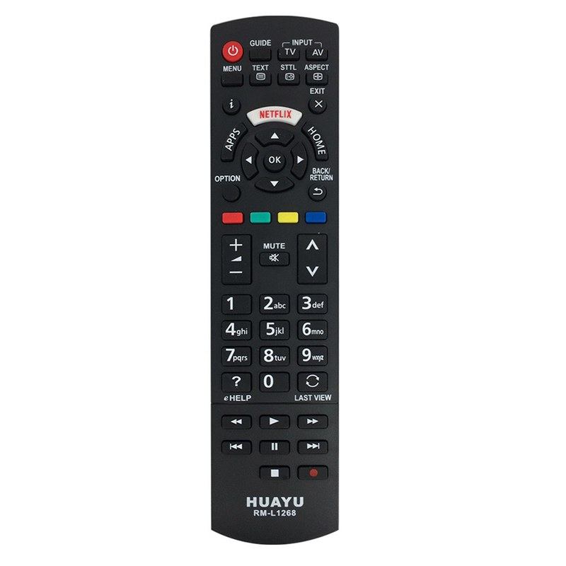 HUAYU Rm-L1268 For Panasonic Tv With Netflix Buttons Remote Control N2Qayb001008 N2Qayb000926 N2Qayb001013