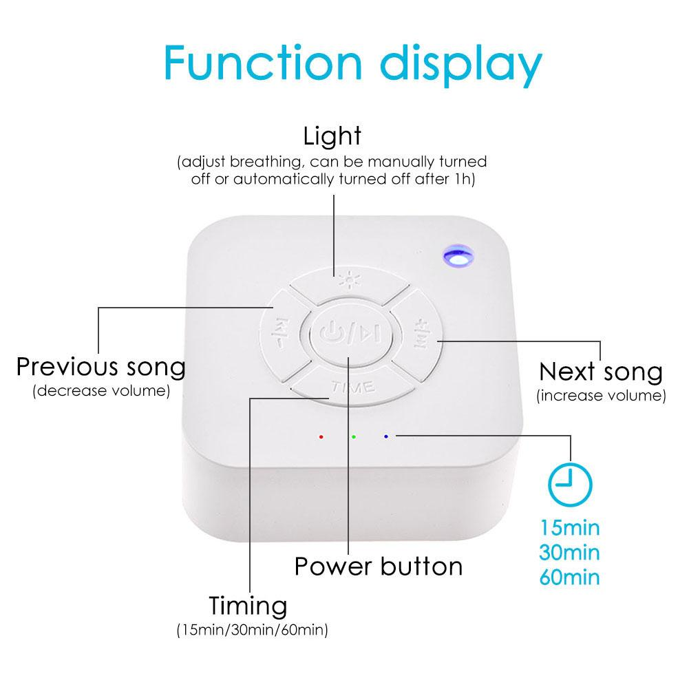 ALI shop ...  ... 33010068875 ... 2 ... White Noise Machine USB Rechargeable Timed Shutdown Sleep Sound Machine For Sleeping & Relaxation for Baby Adult Office Travel ...