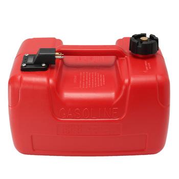 12L czerwony plastikowy przenośny silnik łodzi jachtu Marine zaburtowy zbiornik paliwa pudełko z olejami ze złączem antystatycznym odpornym na korozję tanie i dobre opinie Zbiorniki paliwa Boat Fuel Tank Plastic Autoleader