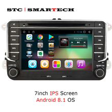 SMARTECH 2 din Android 6.0 Car Multimedia Player for VW/Volkswagen/Passat/POLO/GOLF/Jetta 7 inch car stereo radio with wifi OBD 7 inch screen double din car radio cd dvd player for golf v bmw x5 e53 opel astra h vw passat b6 volkswagen