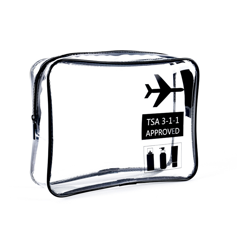 1 pcs TSA flight Storage Bag Toiletry Bag Make up Travel Clear sport in Storage Bags from Home Garden