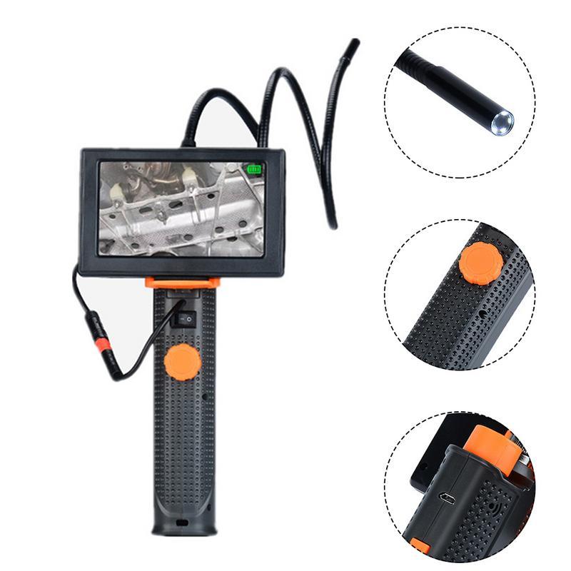 Car Endoscope 4.3-Inch High-definition Large-screen 200W Pixel 720P Video Recording Car Repair Tools Pipe Tools Microscope Car Endoscope 4.3-Inch High-definition Large-screen 200W Pixel 720P Video Recording Car Repair Tools Pipe Tools Microscope