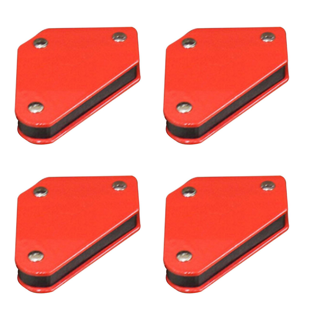 Triangular Welding Positioner 9LB Magnetic Fixed Angle Soldering Locator Tools 4 Pcs/set Without Switch Welding Accessories