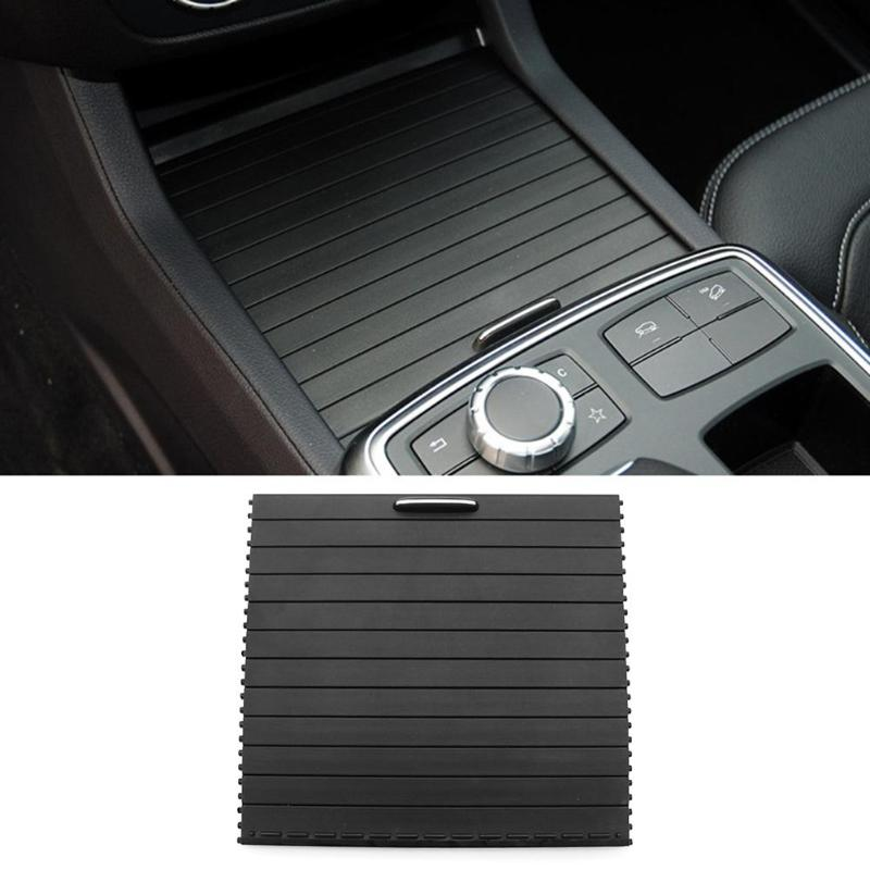 Center Console Cover Slide Roller Blind car interior accessories for ML GL GLE GLS Class W166