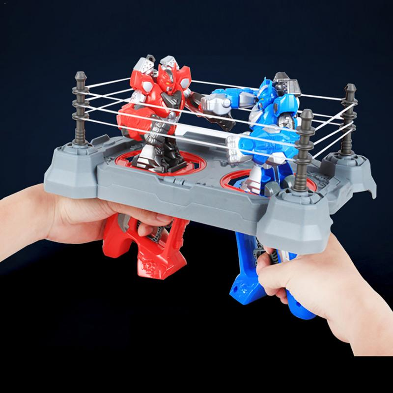 Robot Battle Double Battle Boy Toy Fingers Taiwan Warriors Athletic Boxing Robot Toys Children Gifts