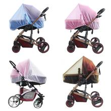 Hot Sale Infants Baby Stroller Crip Netting Pushchair Mosquito Insect Net White Safe Infants Protection Mesh Stroller Nets