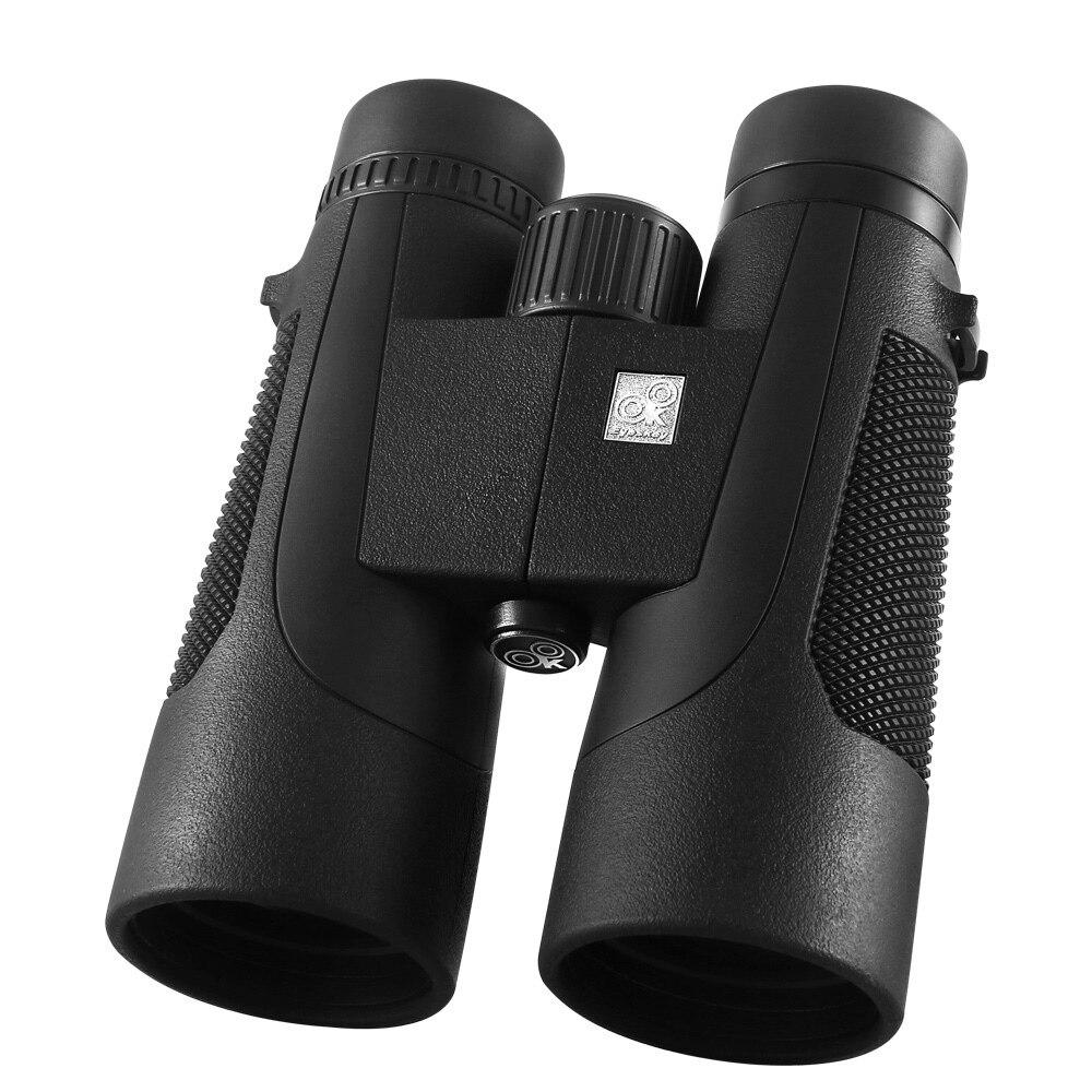 Viseur 10x50 jumelles jumelles de chasse Camping Birding Scopes télescope étanche Bak4 prisme optique
