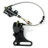 15mm Rear Disc Brake System Caliper Pad For 125cc 140cc Pit Dirt Bike ATV Hydraulic Rear Brake Caliper