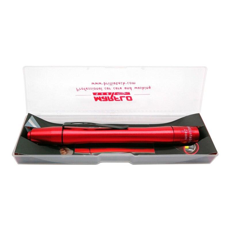Auto Detaillierung Werkzeuge Autolack Überprüfung Swirl Finder Licht Stift Leichter für Auto Waschen und Farbe Finish Werkzeuge Marflo