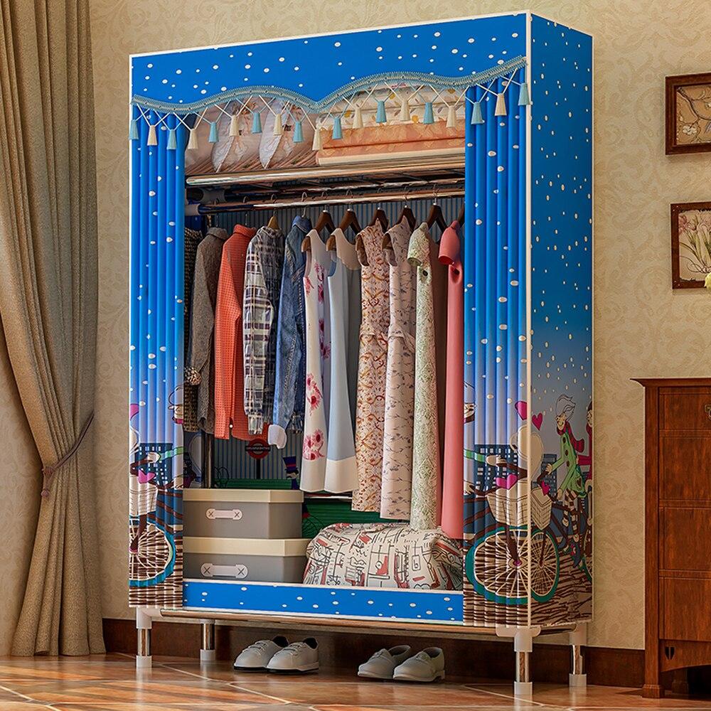 Rack Storage-Organizer Clothing Wardrobe Fabric Fleece