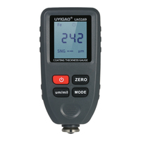 UYIGAO Handheld Backlight LCD Display Digital Paint Coating Thickness Gauge Car Paint Meter Tester Auto Function Fe/NF