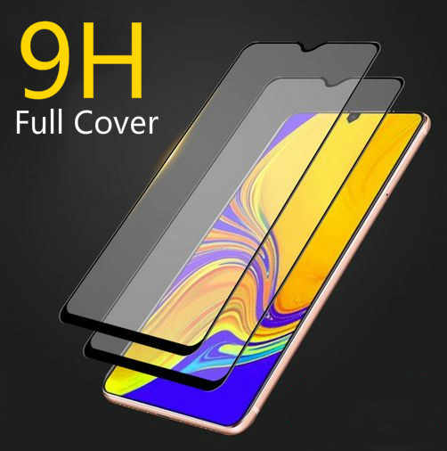 Full Glue Screen Protector for Samsung A90 A70 A6 A8 plus A750 2018 Tempered Glass For Galaxy S10E M30 Screen 9H Hardness Glass