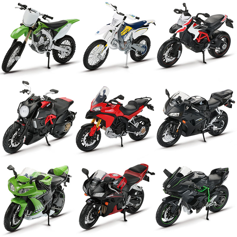 Alloy Racing Motorcycle Toy