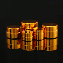 5 г, 10 г, 20 г, 30 г пустая стеклянная банка для крема золотой макияж Уход за кожей ins косметические контейнеры для упаковки