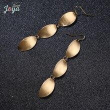 Badu Long Dangle Earring Stainless Steel Rose Gold Drop Hook Earrings Women Punk Style Fashion Jewelry Wholesale