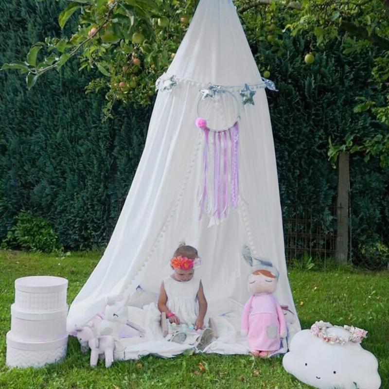 Ornement Décoration Guirlande guirlande en boule de Bruant pour le Mariage ou Partie Enfants Chambre moustiquaire Lit Net Accessoires