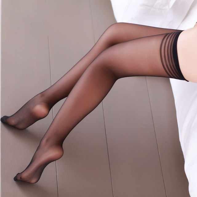 49f0977e5b7de ... Women Sexy Stockings Female Erotic Tights High Long Pantyhose Sexy  Lingerie Female Elastic Nylon Stockings Drop ...