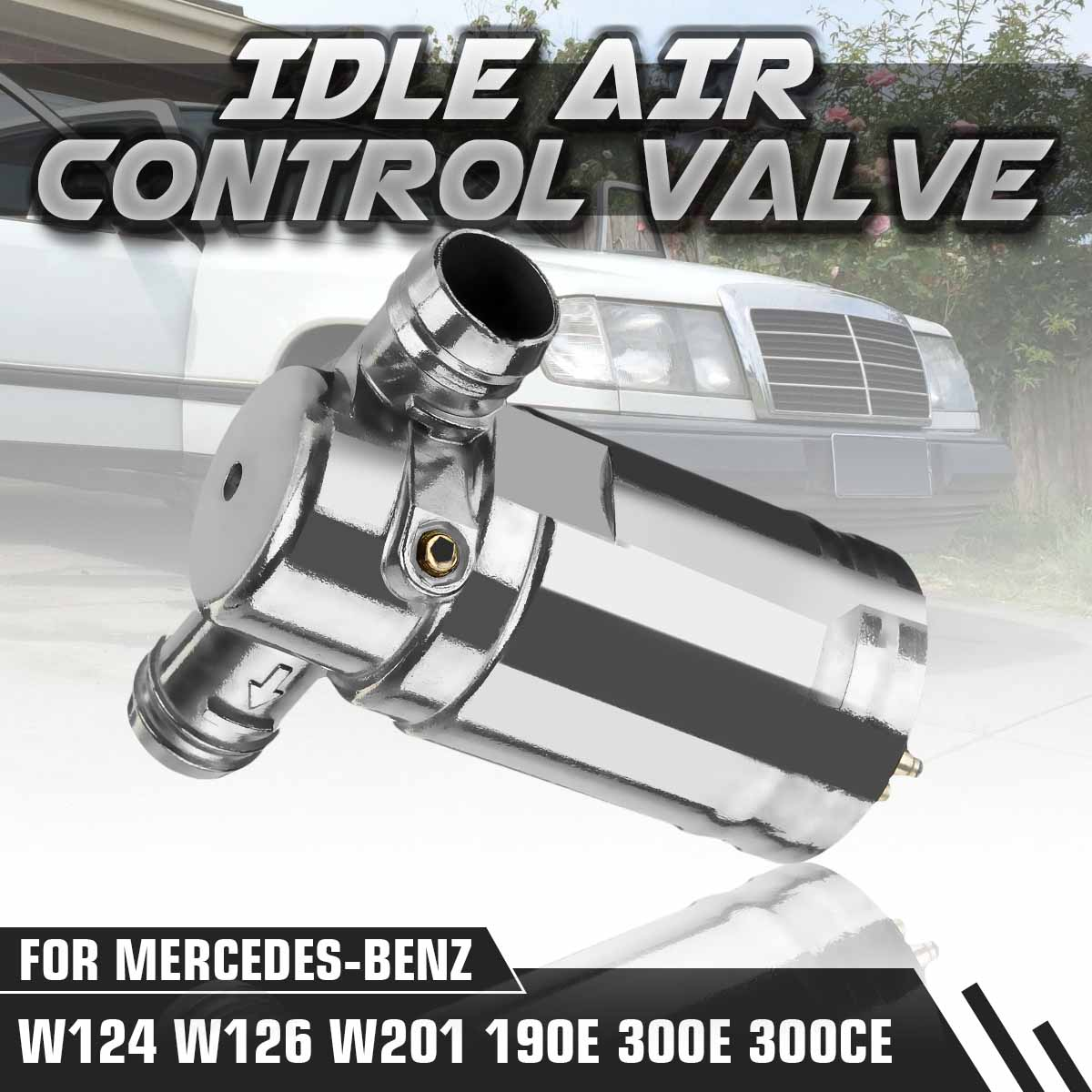 Car Idle Speed Air Control Valve 0280140510 0001412225 For Mercedes Benz W124 W126 W201 190E 300E 300CE