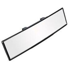Универсальный 270 мм Панорамное зеркало заднего вида Универсальное широкоугольное зеркало заднего вида с всасывающей установкой автомобиля внутренние зеркала