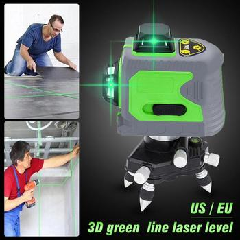 2019 New Arrival 12 Lines 3D Level Self-Leveling 360 Horizontal And Vertical Cross Super Powerful Green Laser Beam Line