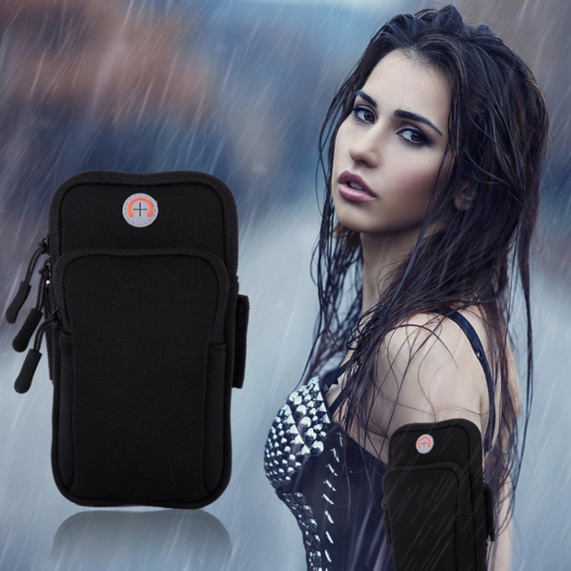 Armband For Samsung Galaxy Note 2 3 N7100 N9000 N9002 Waist Bag Gym Running Cell Phone Holder Case Arm Band Sports Accessories Luxuriant In Design