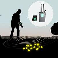High Exactness Long range Professional 3D Underground Metal Detector Copper Diamond Gold Silver Detector Treasure Hunter Tracker